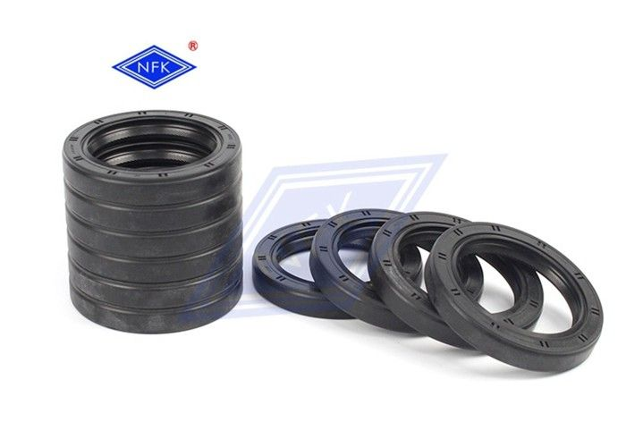 Shaft Lip FKM Rubber Oil Seal , Circular Molded Rubber Seals Long Lifespan