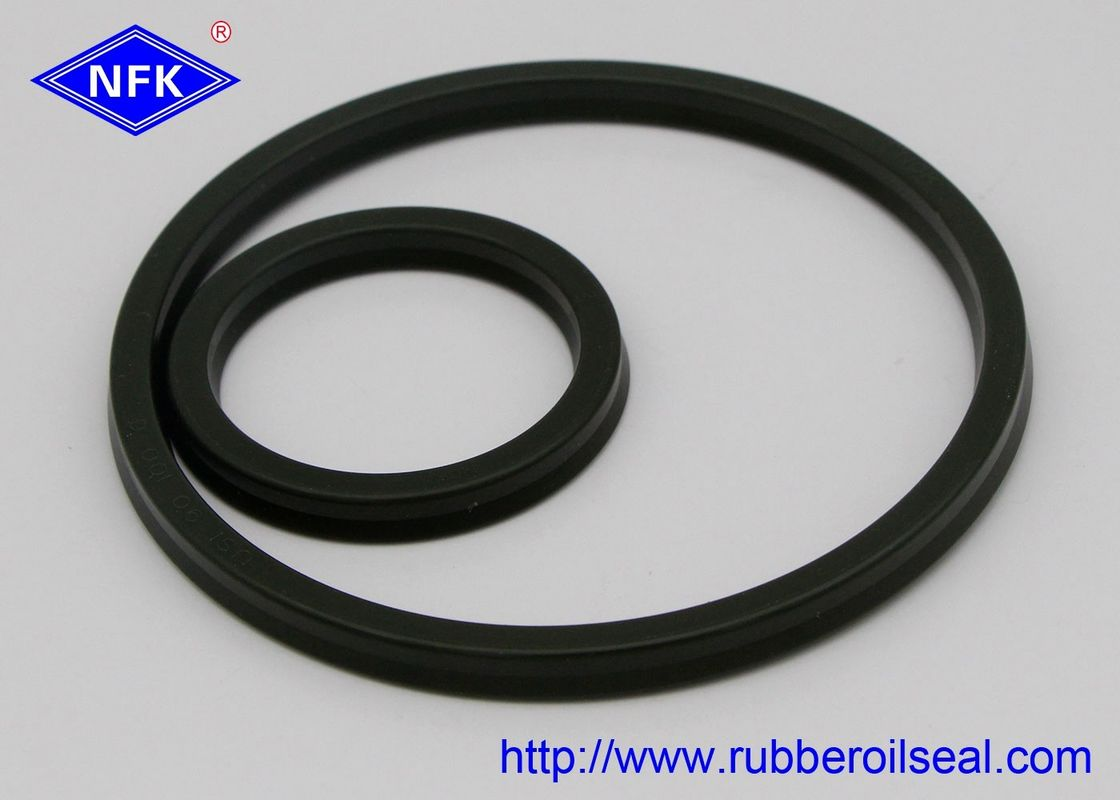 A505 USH Rubber Oil Seal For Piston And Rod Seal Maximum Working Pressure 14MPa Diameter 60 Mm