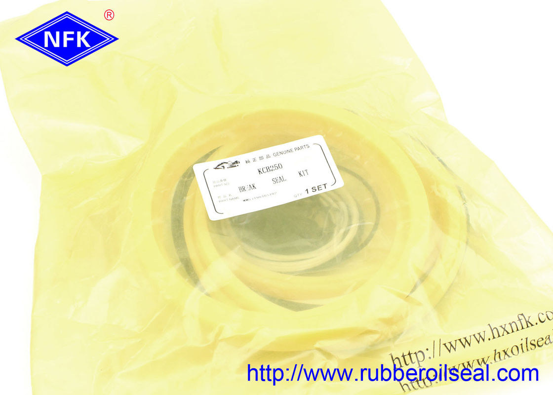 KCB250 Repairs Cylinder Seal Kit Rubber Material -10℃ -80 ℃ Temp Range