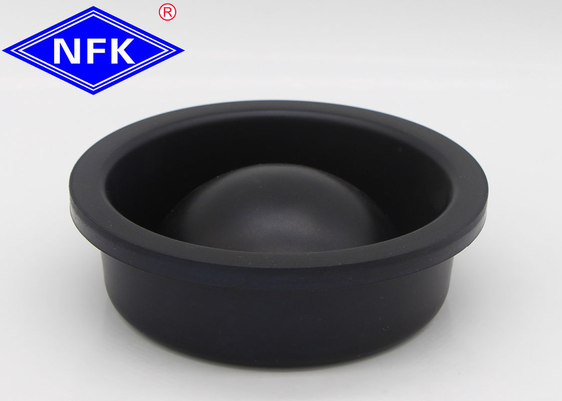 KR804 Higt Rubber Diaphragm Seals , Rubber Hydraulic Seals 100*33mm Size